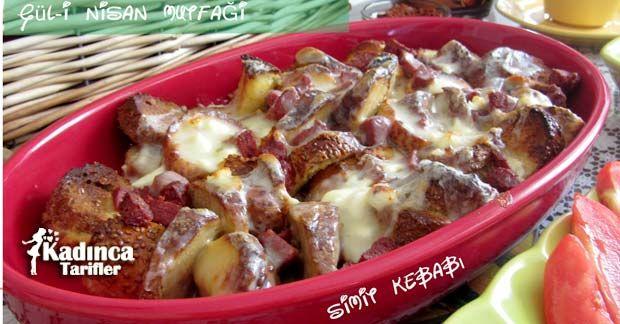 Simit Kebabı Tarifi nasıl yapılır? Simit Kebabı Tarifi'nin malzemeleri, resimli anlatımı ve yapılışı için tıklayın. Yazar: Gül-i Nisan Mutfağı