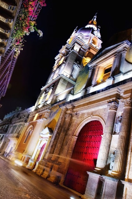 Cartagena by Night, Colombia | See more Amazing Snapz