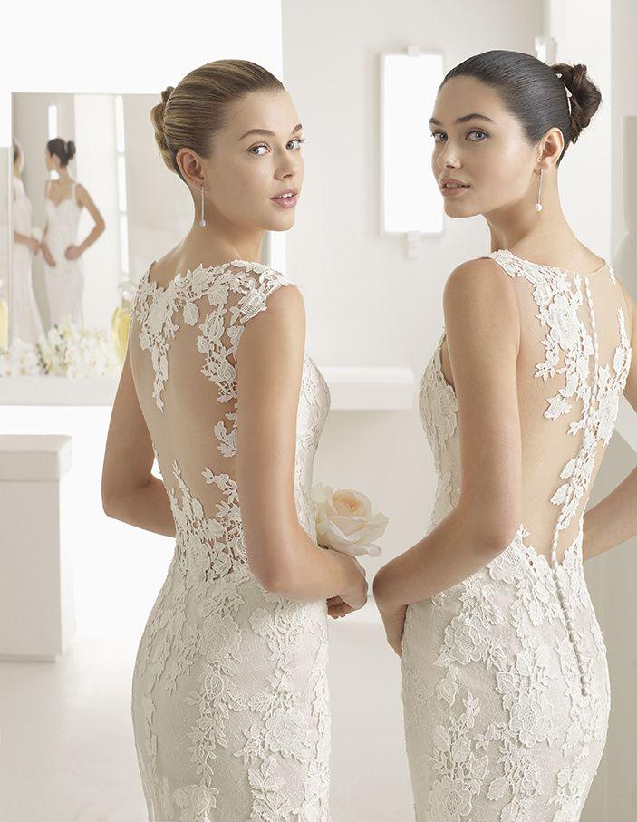 Robe de Mariée OBLICUO de la marque TWO BY ROSA CLARÁ disponible à Nice à la boutique NICEA MARIAGE
