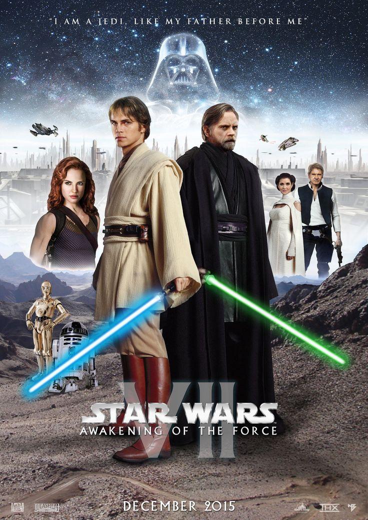 Star Wars Episode VII Teaser Poster by nei1b.deviantart.com on @DeviantArt
