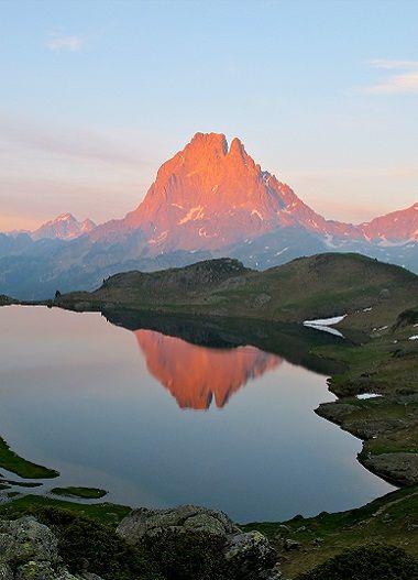 Pic du Midi d'Ossau grand itinéraire de randonnée