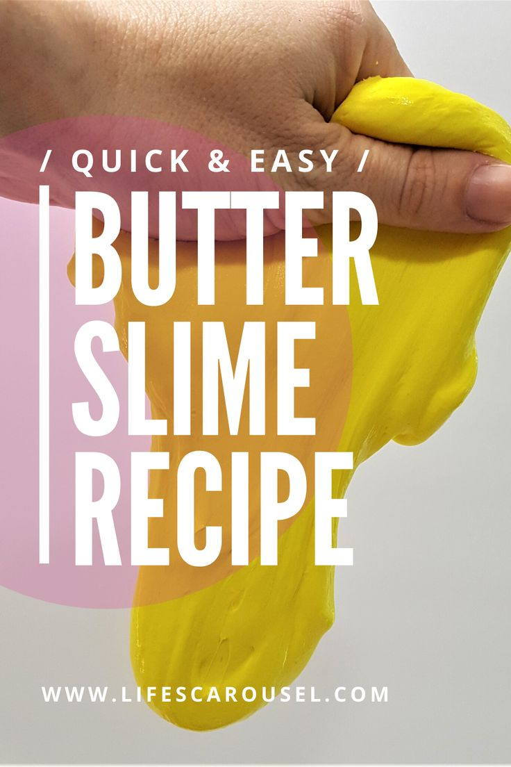 How to Make Butter Slime Recipe - SMOOTHEST and STRETCHEST Slime Ever!