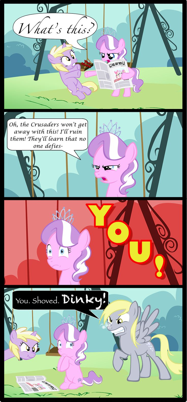 No Pushing By Mlp Silver Quill Deviantart Com On
