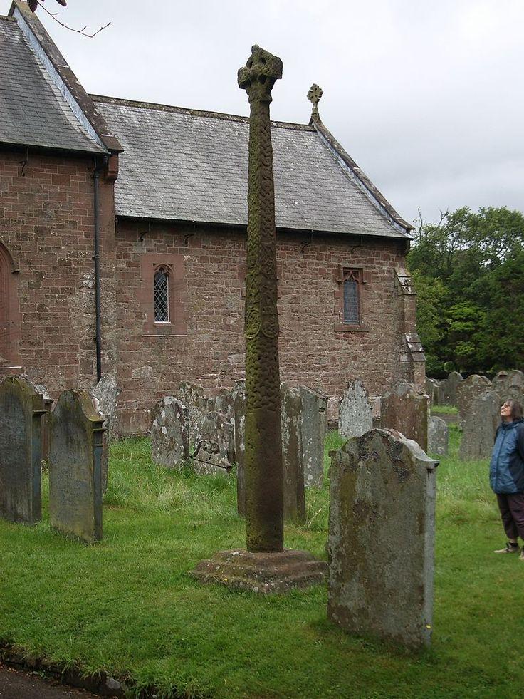 Gosforth Cross AngloSaxon art Wikipedia Anglo saxon