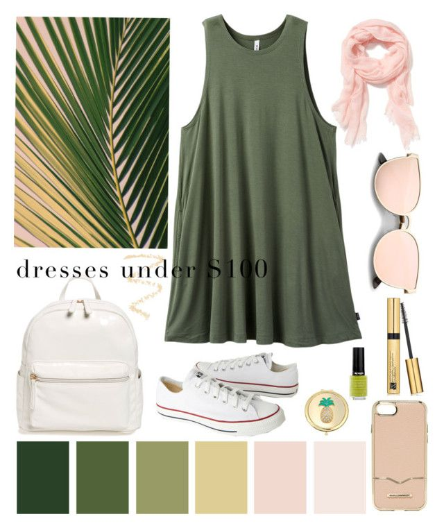 """""""Senza titolo #6180"""" by waikiki24 ❤ liked on Polyvore featuring RVCA, Converse, BP., Revlon, Estée Lauder, Topshop, Liz Claiborne, Rebecca Minkoff and Old Navy"""