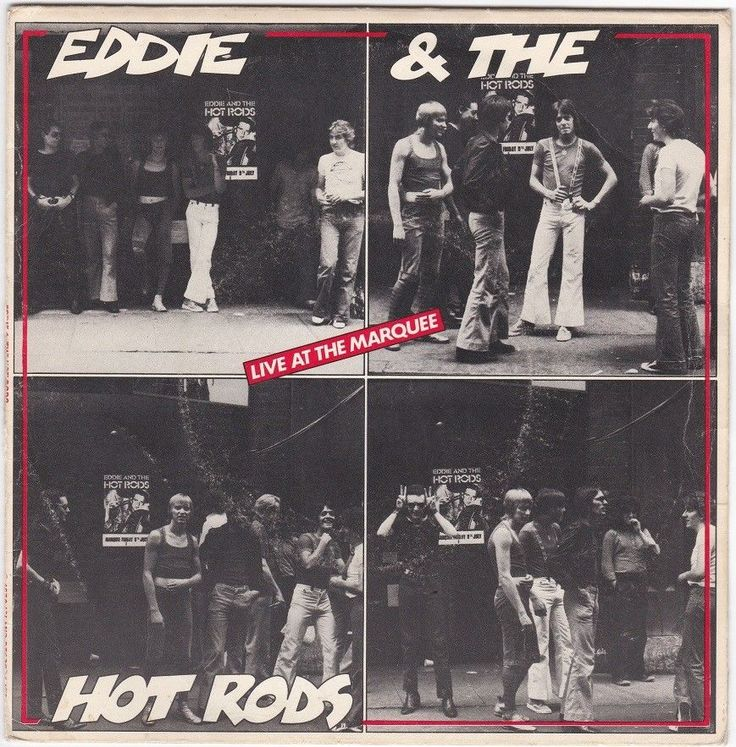 "Eddie and the Hot Rods - Live at the Marquee, 7"" vinyl, Island records, c.1976 #vinyl"