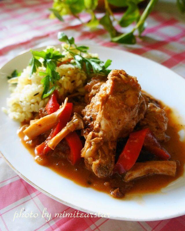 【レシピ】スパイスから作る☆鶏手羽元とエリンギの本格インドカレー |フードアナリスト×jr野菜ソムリエMimiの きまぐれ料理日記