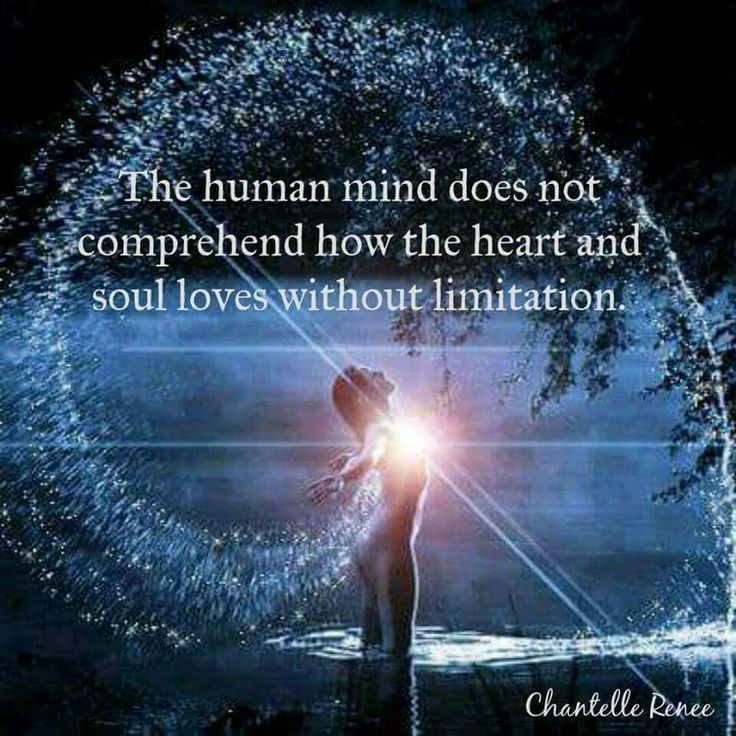 The human mind does not comprehend how the Heart and Soul loves without limitation ⊰♡⊱