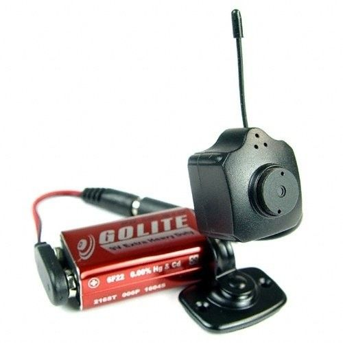 Wireless Color Spy Video Camera Complete Package $29.92 spy gear