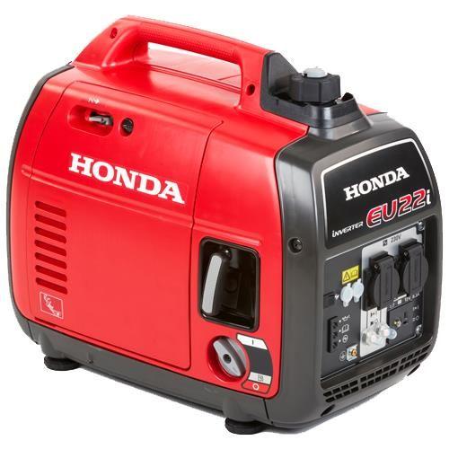 *CLICK TO ENLARGE* Honda EU22i 2200W Silent Portable 'Suitcase' Inverter Generator