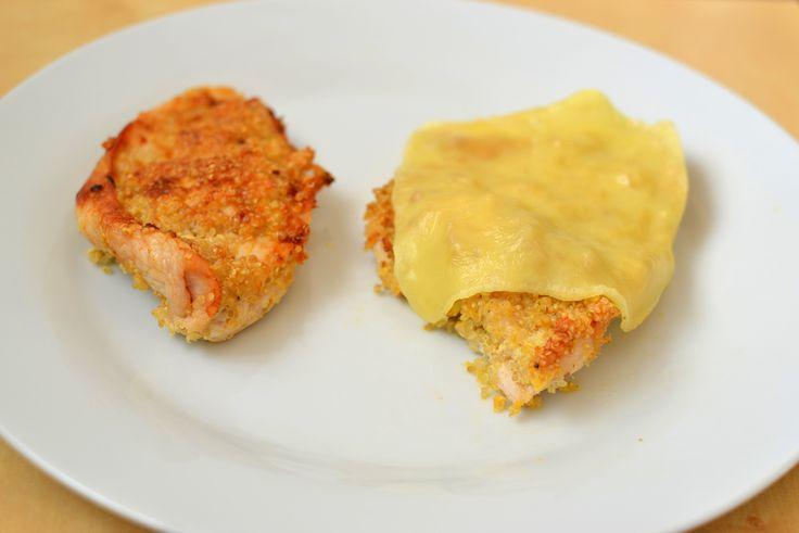 Palavras que enchem a barriga: Bifes de peru panados com quinoa... na actifry