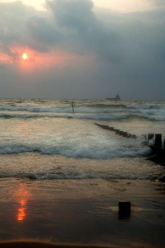 Sunrise over the North Sea, Aberdeen