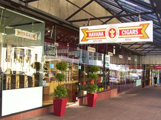 Havana House Cigars: - Shop 3, 11-19 Customs Street West, Downtown Auckland, NZ