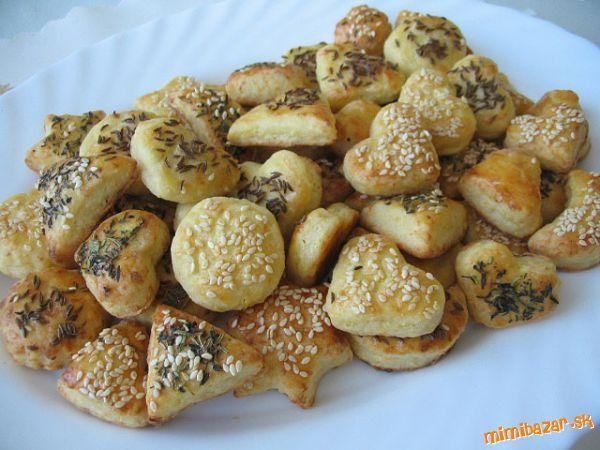 sýrové sušenky recept - Hledat Googlem