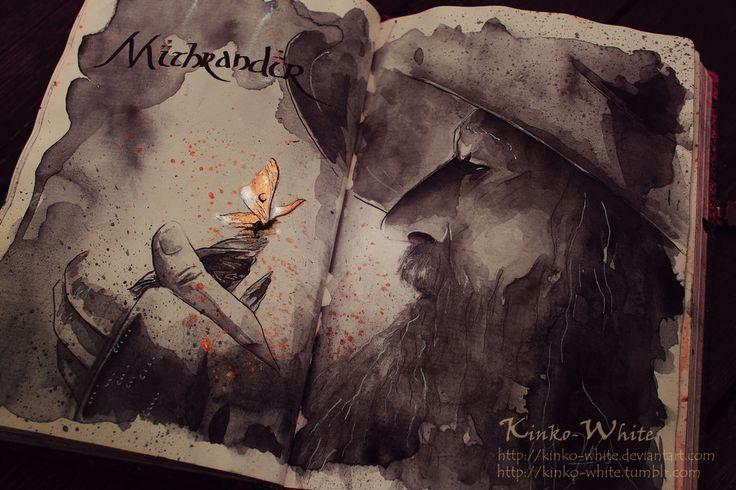 Fã faz pinturas incríveis baseadas no filme O Senhor dos Anéis   Magnatas