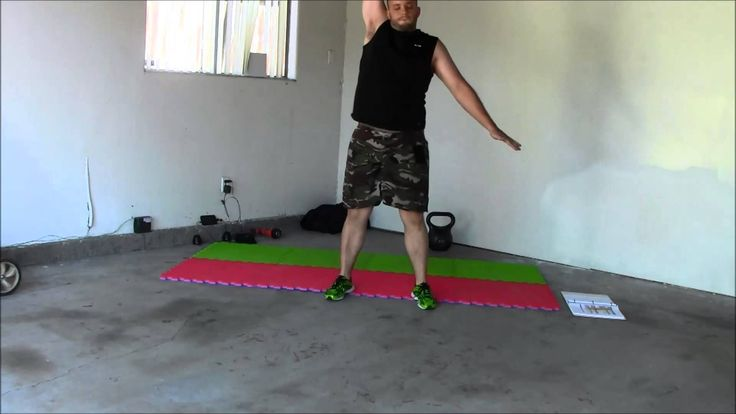 Enter the Kettlebell Get Up Day youtube~women execute the same moves with the bells as men, just use a lighter weight if you are female