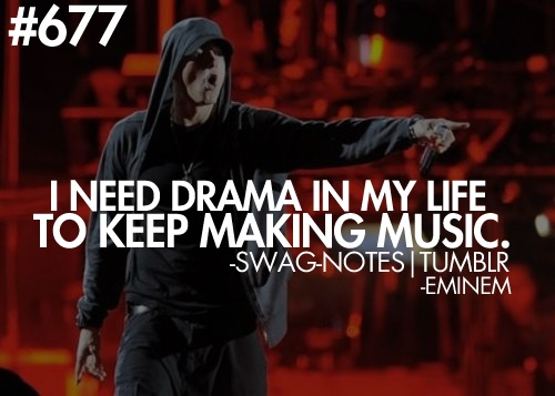Words from Eminem