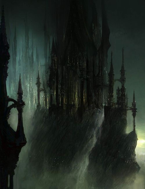 Another piece of concept art from Dark Souls II.