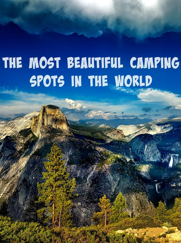 Camping is a brilliant way to get outdoors and see some of the most incredible places in the world, without expensive hotels. If you are looking to go on a camping holiday, here are some of the best spots out there.