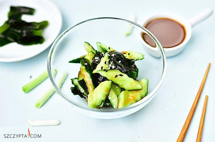 wakame seaweed with miso