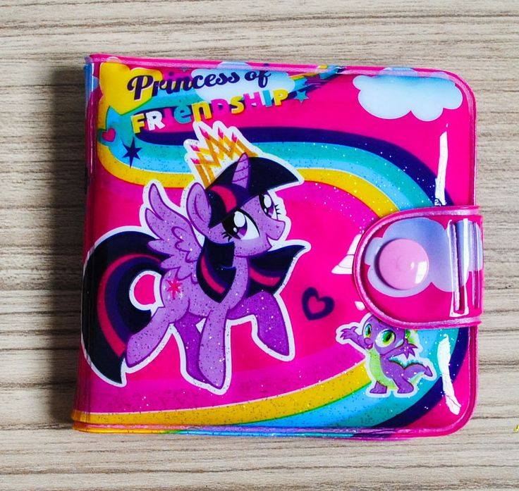 MY LITTLE PONY House Kids Girls Wallet Purse Coin Pouch Bag New #02 FREE SHIP #PONY