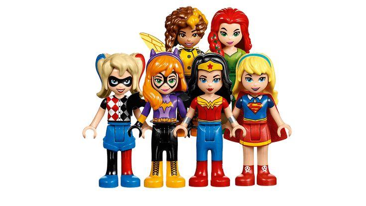 DC Super Hero Girls - LEGO.com