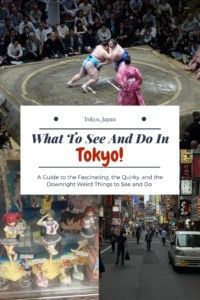 What To See And Do In Tokyo.  Tokyo is such a big city you need a game plan.  Check out this post for some tips on what you need to see and do in Tokyo! #tokyo #japan #asia #backpacker #backpacking