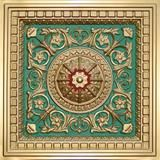 "Faux Tin Ceiling Tile - Drop In - 24""x 24"" #215 - Designer Ceiling Tiles"