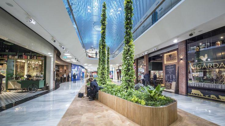 Mall Of Scandinavia Interior Google Search Mall Interior Pinterest