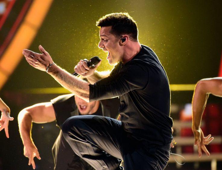 Ricky Martin, ídolo del baile       | El músico realiza hoy el primero de dos espectáculos en el Velódromo Municipal y con entradas agotadas