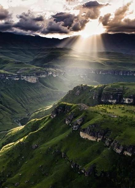 Foothills of the Drakensberg, KZN, South Africa.