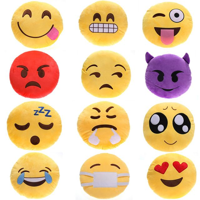 $6.02// Emoji Pillows// Delivery: 2-6 weeks