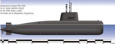 El TR-1700 es una serie de submarinos de propulsión convencional, construidos en Thyssen Nordseewerke, Emden, Alemania. Fueron concebidos para ataques contra fuerzas de superficie, submarinos, tráfico mercante y operaciones de minado. Dos unidades fueron entregadas a la Armada Argentina que los asignó a su Comando de la Fuerza de Submarinos (COFS) y su puerto de amarre es la Base Naval de Mar del Plata.