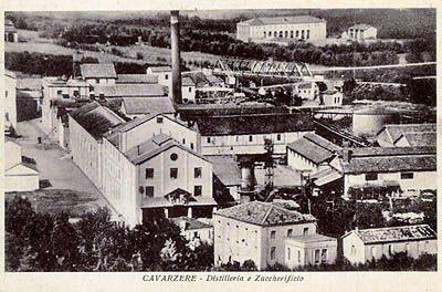 Cavarzere (Venezia) -Zuccherificio-Distilleria