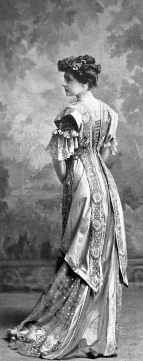 Beautiful gown 1890s?