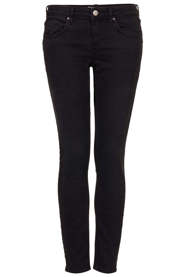 Mid-rise Skinny Jeans, suitable thickness offers comfortable wearing experience.