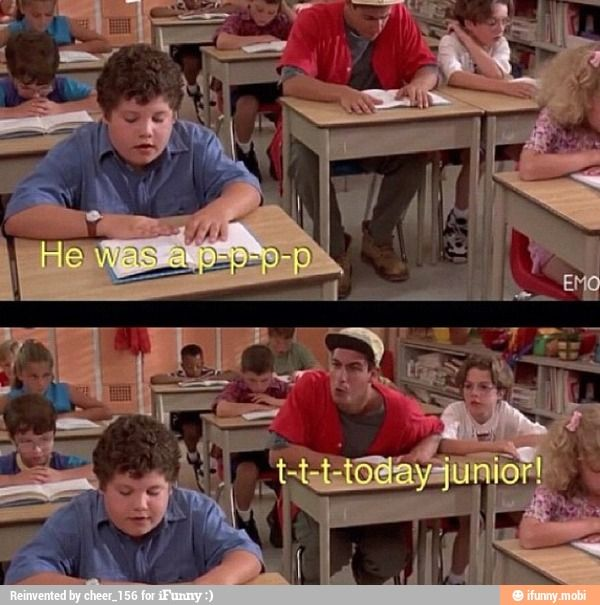 There's been so many times in my life I have wanted to say this! Billy Madison Quote