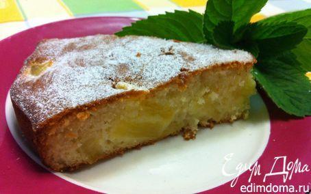 Торт с ананасом и кокосом от Джейми Оливера | Кулинарные рецепты от «Едим дома!»