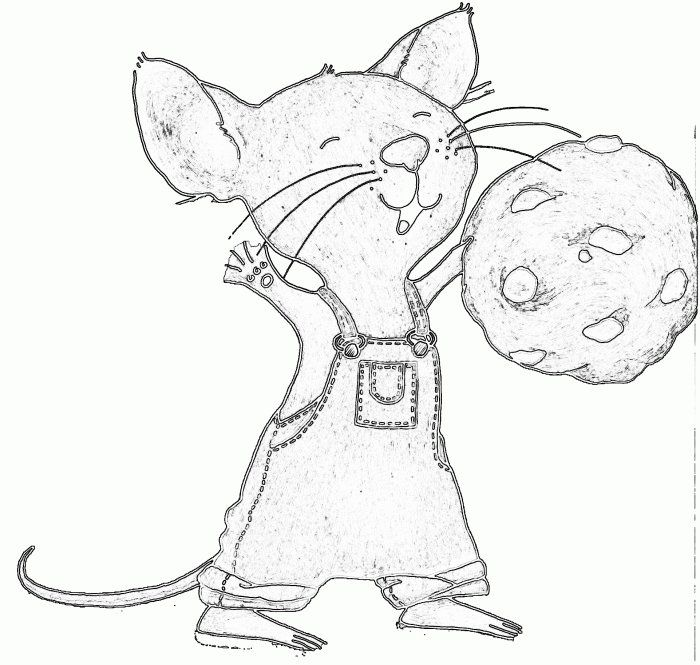 If You Give A Mouse A Cookie Coloring Pages Coloring Pages