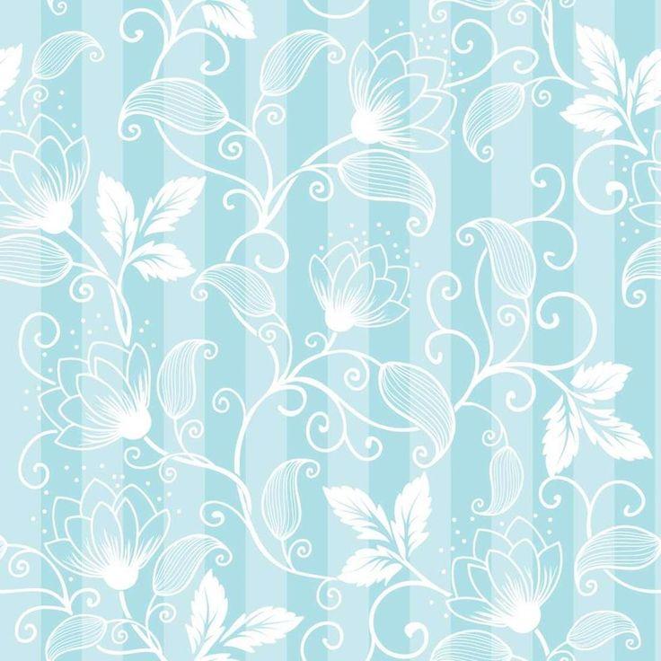 Papel de Parede Floral 589695