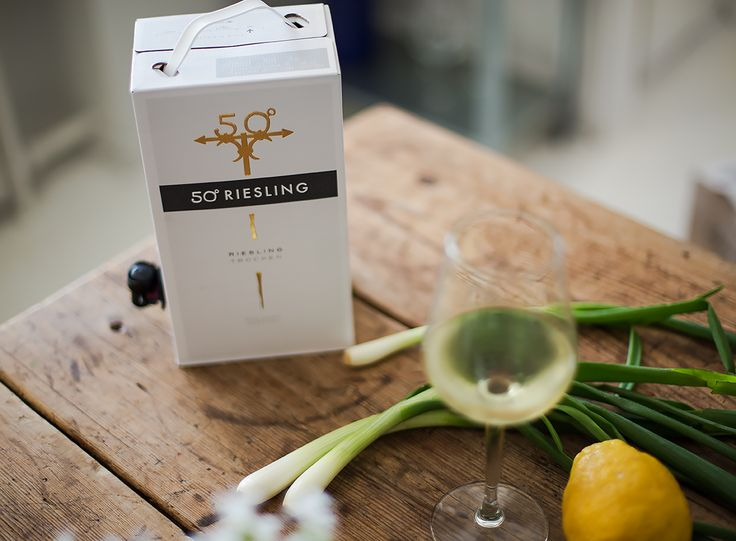 My favourite box wine / 50 degrees Riesling