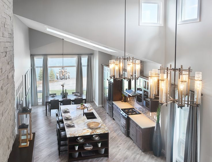The Newport Kitchen in Legacy – Trico Homes – Check out the new homes built by www.tricohomes.com #homebuilder #tricohomes #calgary