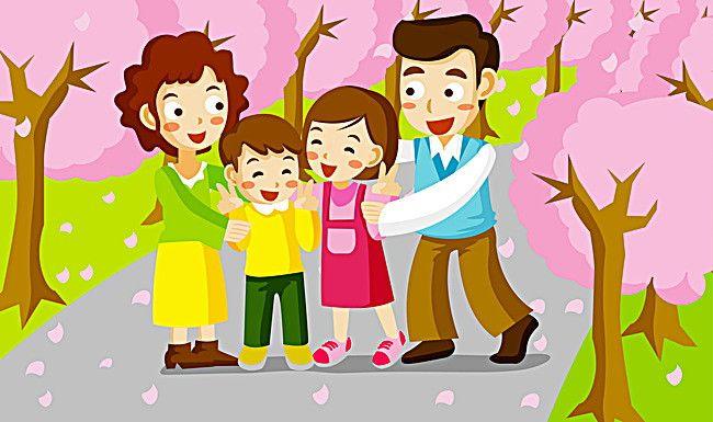 الاسرة السعيدة Kids Background Cartoon Boy Cartoon