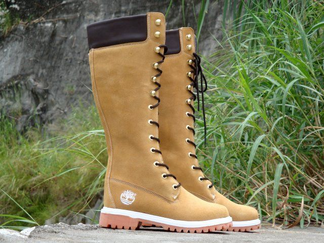 timberland high boots for women