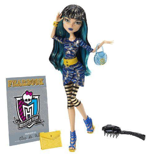 Mattel Monster High Y8500 -  Cleo de Nile, Puppe mit Jahrbuch Monster High http://www.amazon.de/dp/B00A6SOM2S/ref=cm_sw_r_pi_dp_FSFrwb0EAN62N