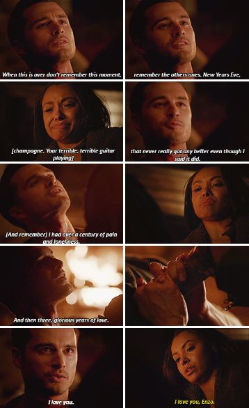 """#TVD 7x22 """"Gods & Monsters"""" - Bonnie and Enzo"""
