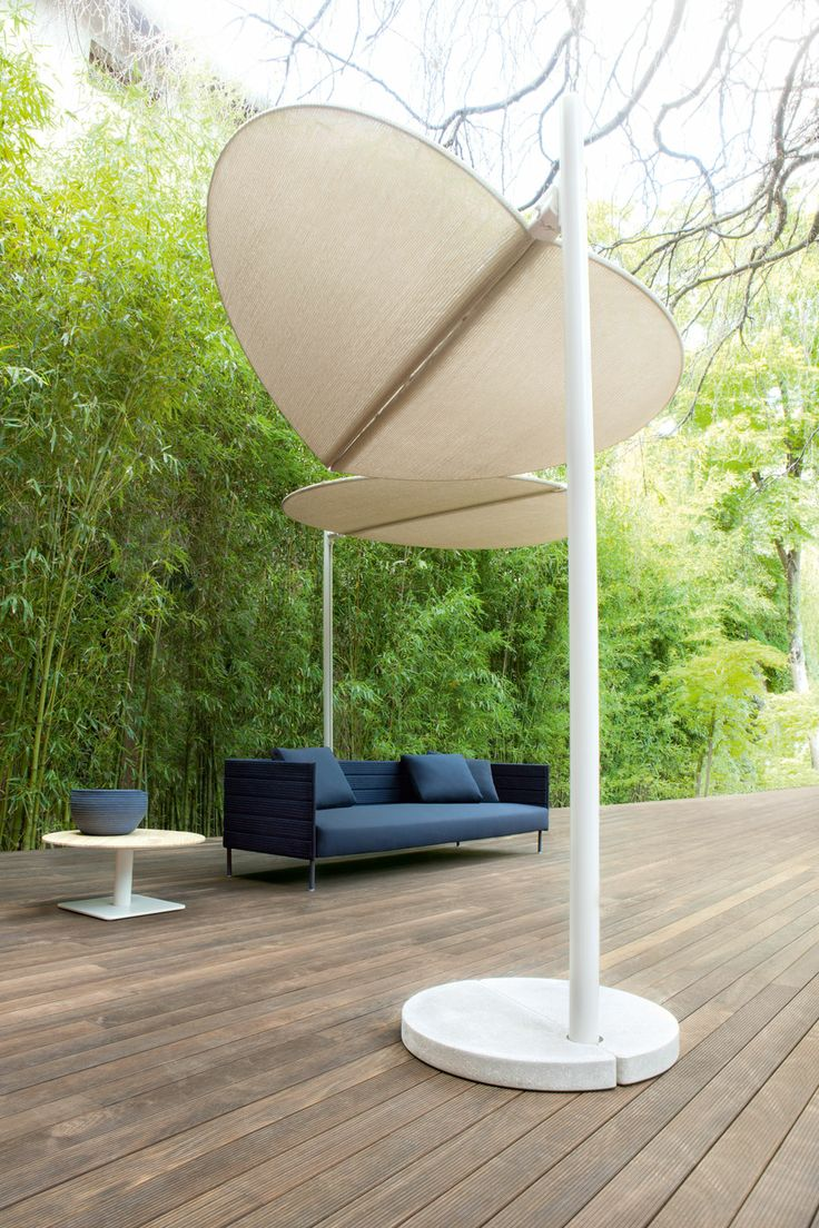 ombra sun shade by paola lenti via