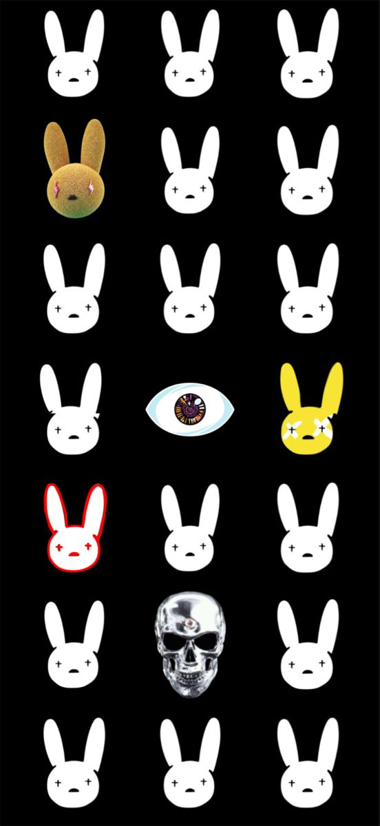 Bad Bunny Logo Wallpaper : bunny, wallpaper, Bunny, Wallpaper,