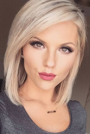 Graceful Looks for Medium Bob Hairstyles ★ See more: http://glaminati.com/medium-bob-hairstyles-looks/