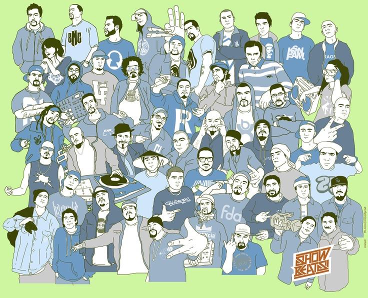 50 rostros de la cultura urbana chilena, gracias a @showbeats por incluirme en esta obra maestra.